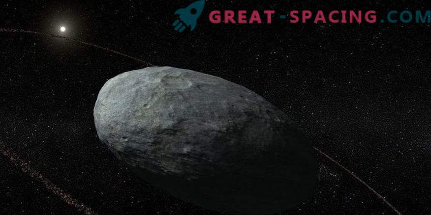 Haumea pitic are un inel