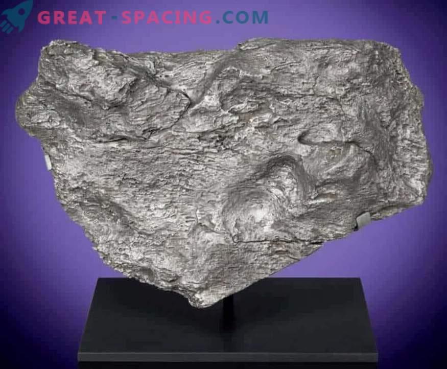 Combien coûte une météorite