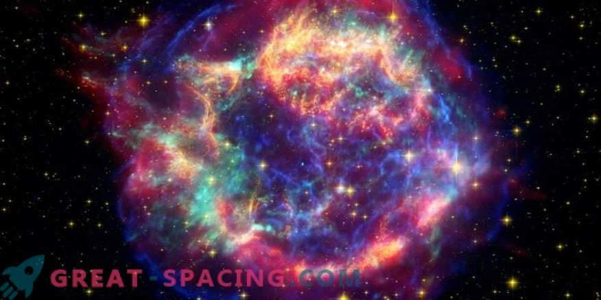 Supernovele pot lăsa urme pe meteoriți.