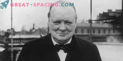 Winston Churchill pensó en la vida alienígena