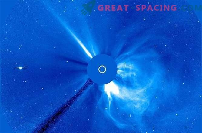 Observații ciudate și uimitoare SOHO: Fotografii