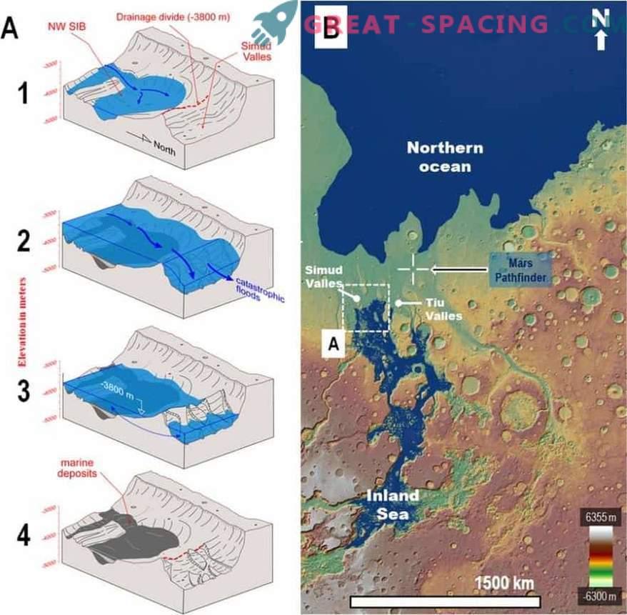 Pe măsură ce Rath Pathfinder a descoperit accidental apă pe Marte