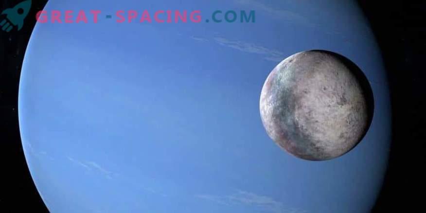 What dark past hides the satellite of Neptune Triton