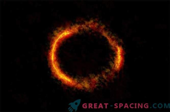 ALMA surprinde vederea uimitoare a inelului lui Einstein.