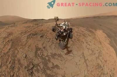 Curiozitatea a făcut un nou selfie pe Marte