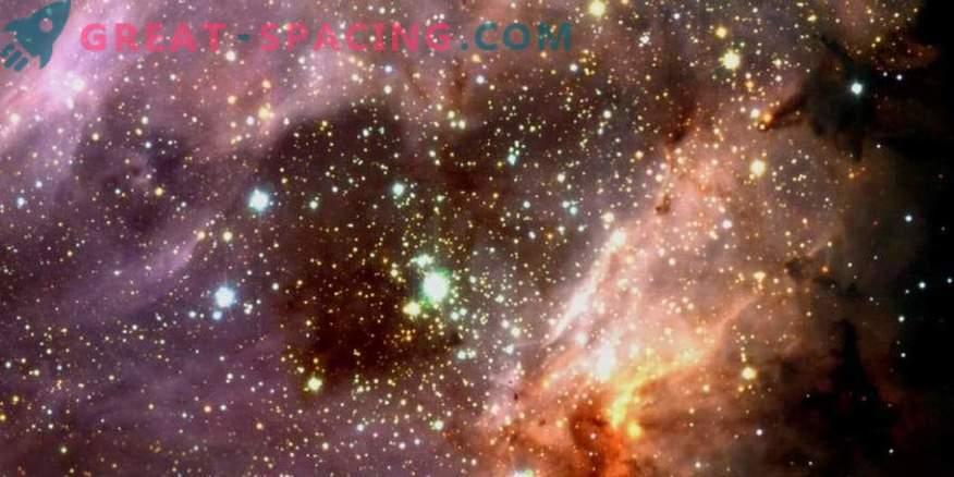 Продължителност на живота на зоните, образуващи звезди