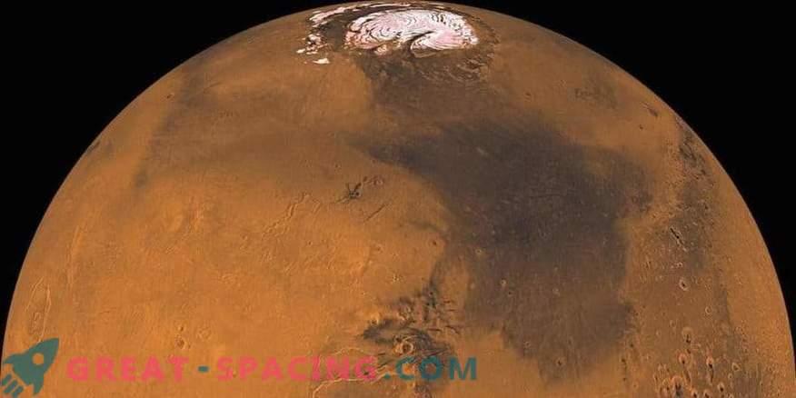Marsovski meteoriti kažejo na vlažnost Rdečega planeta