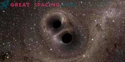Un nou mod de a forma găuri negre dublu