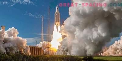 Lansarea a 100-a pentru racheta europeană Ariane-5