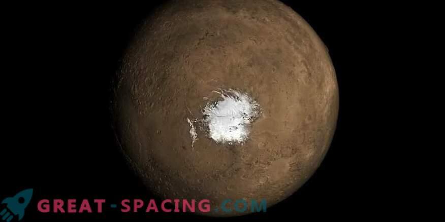 Marsi järv oleks võinud ilmneda hiljutise vulkaanilise tegevuse tõttu