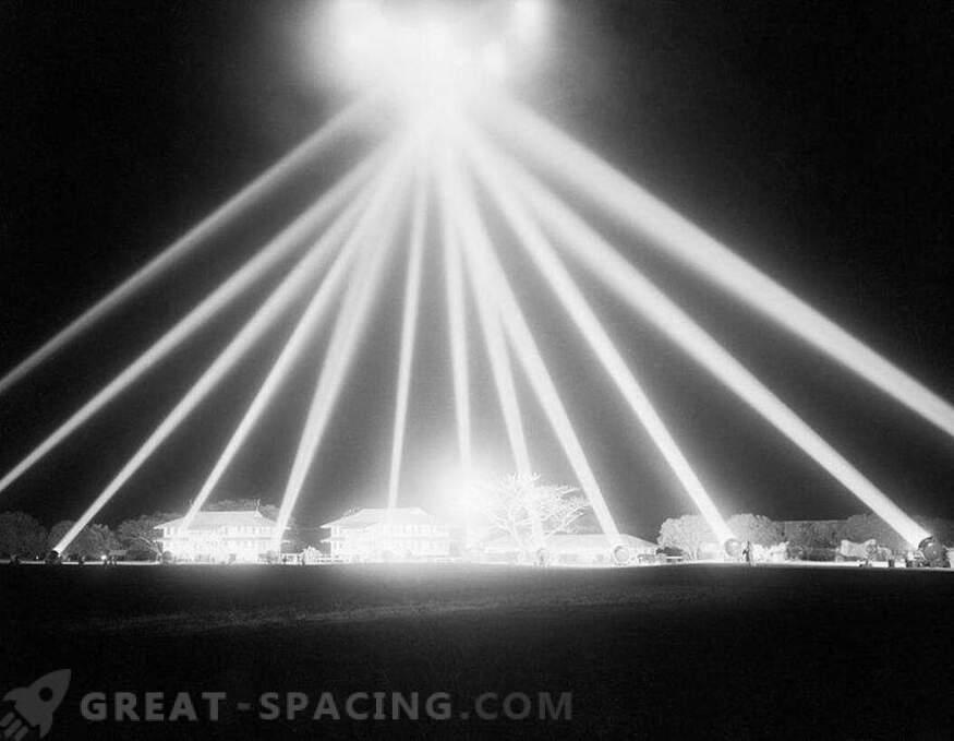 Incidente en Los Ángeles - 1942. Los militares dispararon al cielo, pero no entendieron a quién apuntaban